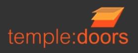 Temple Doors Logo